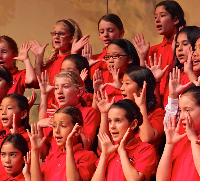 Kids Singing Los Angeles